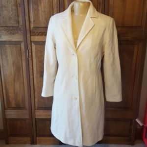 Marvin Richards VTG Wool Knee Length Coat Sz 10P